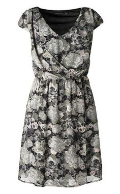 Dress Short Sleeve Dresses, Dresses With Sleeves, Flower Prints, Outfits, Fashion, Moda, Floral Patterns, Suits, Sleeve Dresses