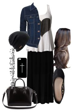 """""""Apostolic Fashions #789"""" by apostolicfashions ❤ liked on Polyvore featuring moda, Hallhuber, Only Limitless, Aéropostale, Givenchy, Casetify ve Coal"""