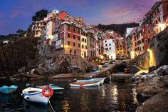 Riomaggiore is a village and comune in the province of La Spezia, situated in a small valley in the Liguria region of Italy. Photo by: James Brandon Cinque Terre, Sestri Levante, Village Photos, Riomaggiore, Regions Of Italy, Visit Italy, Hotels And Resorts, Places To See, The Good Place