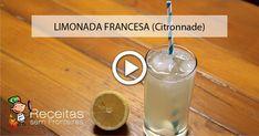 Limonada francesa, a nova versão deste clássico refrescante!