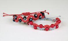 #DIY #Macrame Easy Wave or Snake Bracelet Video #Tutorial. original source.