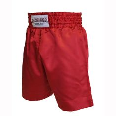 Solid Red Boxing Shorts  $25.00