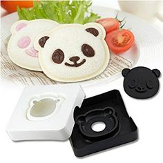 [ Global Group ] Cute Panda Bear Sandwich Pocket Maker Bread Toast Mold Mould Cutter Stamp *** See this awesome image  : All Makeup Items List