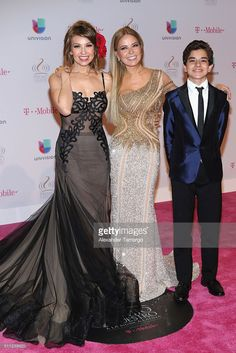 SINGER THALÍA WEARS GALIA LAHAV - PREMIO LO NUESTRO A LA MUSICA LATINA  Moonstruck Collection-Evening dresses