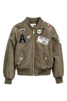 Jachetă de aviator vătuită