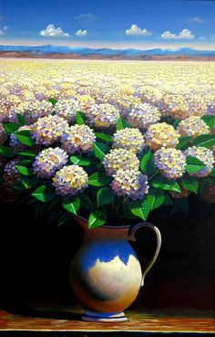 Ernesto Arrisueño, 1957 ~ Magic Realism painter