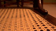 Instructions for the Rush Pattern in Chair Caning