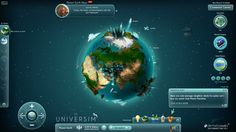 The Universim Game UI Concept by Koshelkov.deviantart.com on @deviantART
