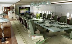Airbus VIP A380 interior. Available for Charter.  Travel the world with Private Jet Charter. Charter a Jet with us - http://www.privatejetcharter.com