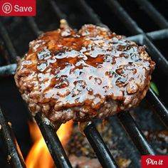 #MUST_SAVE Jack Daniels Burgers (T.G.I. Fridays Copycat 1.5 hrs to make serves 6 - Ingredients Meat 12 slices Bacon 1 lbs Ground sirloin Produce 3 tbsp Garlic 1 Red onion 1 Tomato cup White onion Condiments 1 Hamburger pickle chips cup Lemon juice 1 tbsp Soy sauce 1/3 cup Teriyaki sauce Baking & Spices 2 cups Brown sugar tsp Cayenne pepper 1 Salt and pepper Bread & Baked Goods 6 Hamburger buns Drinks 1 cups Pineapple juice Dairy 6 slices Provolone cheese Beer Wine & Liquor 3 tbsp Jack…
