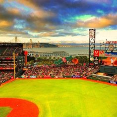 AT'&'T Park, the home of the San Francisco Giants
