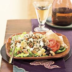 Learn how to make Turkey-Artichoke-Pecan Salad. MyRecipes has tested recipes and videos to help you be a better cook. Mexican Salad Recipes, Italian Salad Recipes, Chopped Salad Recipes, Spinach Salad Recipes, Chicken Salad Recipes, Easy Turkey Recipes, Leftover Turkey Recipes, Healthy Recipes, Different Salads
