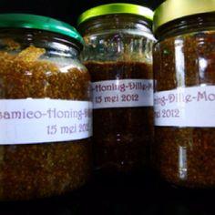 Homemade mustard, so easy to make...