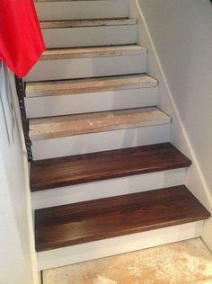 DIY From Carpet To Beautiful Wood Stairs