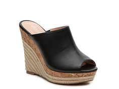 Women Azie Wedge Sandal -Black