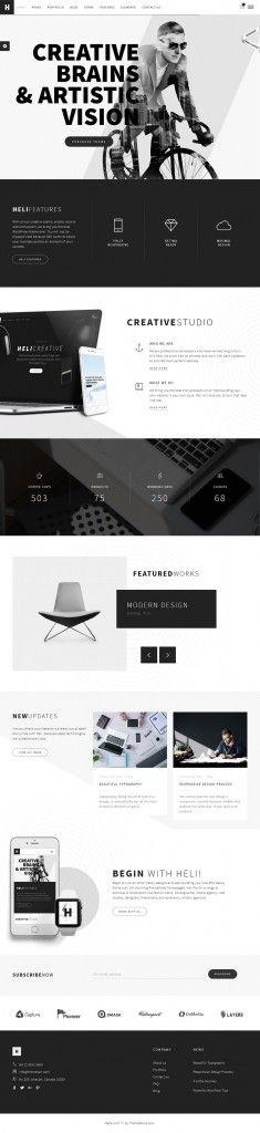 theme for creative web design inspiration