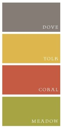 Dove. Yolk. Coral. Meadow.