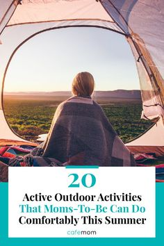 20 Active Outdoor Activities That Moms-To-Be Can Do Comfortably This Summer: A baby belly doesn't have to hinder the summer fun. Here are some safe outdoor activities that mamas-to-be can do. Outdoor Learning, Outdoor Activities, Enjoy Summer, Summer Fun, Veterans Day Quotes, Kids Stage, Outdoor Movie Nights, Pregnancy Problems, Baby List