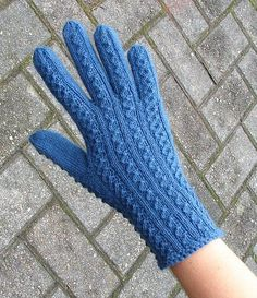 Ravelry: Merike's Gloves pattern by Nancy Bush