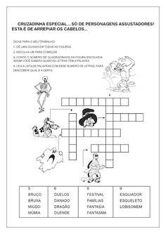 Cruzadinha para alfabetização - Atividades de Alfabetização para Imprimir