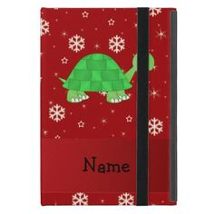 >>>Low Price          Personalized name turtle red snowflakes case for iPad mini           Personalized name turtle red snowflakes case for iPad mini in each seller & make purchase online for cheap. Choose the best price and best promotion as you thing Secure Checkout you can trust Buy bestThi...Cleck See More >>> http://www.zazzle.com/personalized_name_turtle_red_snowflakes_ipad_case-256852281895825609?rf=238627982471231924&zbar=1&tc=terrest