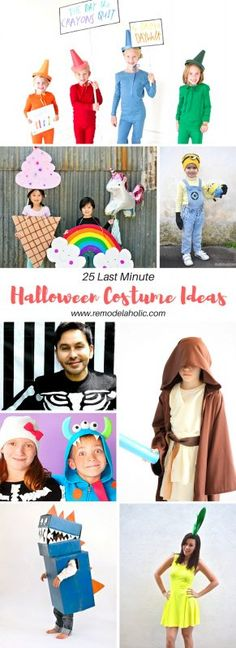 10 Best Kids Costumes to Make On A Budget Costumes and Halloween - top last minute halloween costume ideas