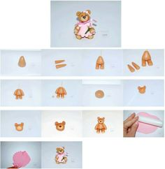 Teddy Bear in a Dress Picture Tutorial