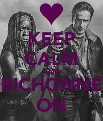 ♥ Richonne | Rick and Michonne | The Walking Dead (AMC)