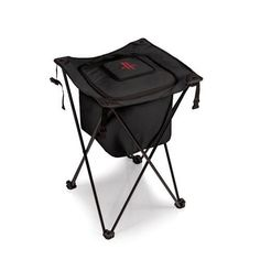 Houston Rockets Sidekick Portable Cooler w/Digital Print - Black