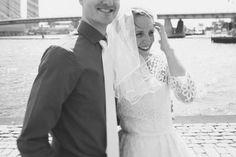 Rotterdam city wedding