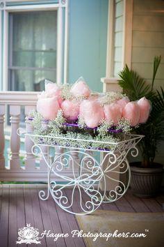 Vintage Cotton Candy Cart