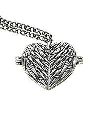 HOTTOPIC.COM - Supernatural Castiel Wings Heart Locket