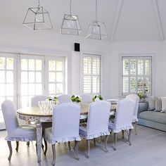 Dining room | Dublin villa | House tour | PHOTO GALLERY | Country Homes and Interiors | Housetohome.co.uk
