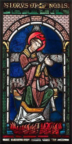 Martyrdom of Saint Lawrence   British   The Met