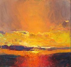 Sunset Over Valencia Island I 2006 - Andrew Gifford