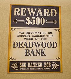 Mord an den Deadwood Saloon-Dekorationen - Trendy Decor Styles 2019 Western Saloon, Western Theme, Western Decor, Saloon Girl Costumes, Saloon Decor, Black Cowboy Hat, Murder Mystery Games, Felt Cowboy Hats, Fiesta Party