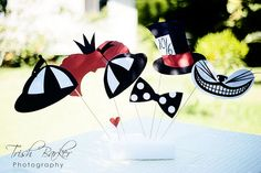 Alice in Wonderland Photo Booth Props by windrosie, via Flickr