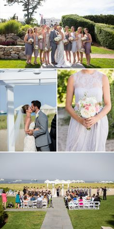 Jessica and Justin Cape Cod Wedding Inspiration | Beachside Wedding and Clambake | Vermont Bride Magazine
