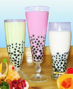 How to make delicious refreshing bubble tea with tapioca pearls at home!!  I had never tried this until a week and a half ago, now I'm hooked!