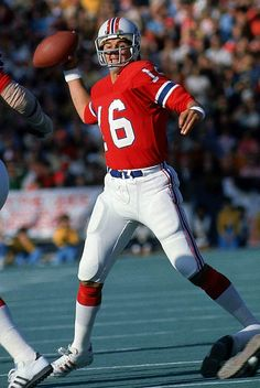 Quarterback Jim Plunkett in his early years with the New England Patriots. aee21b4f9