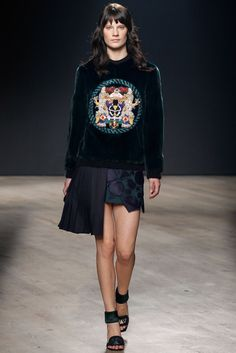 Mary Katrantzou Fall 2014 Ready-to-Wear Fashion Show - Querelle Jansen