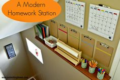 A Modern Homework Station