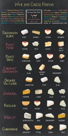 9 Charts That Will Help You Pair Your Cheese And Wine Perfectly - This one, because everyone needs as many options as possible!: