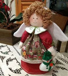 44 Ideas Sewing Projects Christmas Stocking For 2019 Christmas Angel Crafts, Christmas Sewing Projects, Sewing Projects For Kids, Christmas Stockings, Elf Decorations, Christmas Decorations, Christmas Ornaments, Diy Crafts New, Sewing Crafts