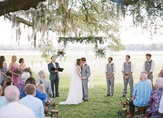 A daytime wedding in Florida with a delicious brunch reception. Wedding Ceremony, Wedding Venues, Daytime Wedding, Brunch Wedding, Rustic Elegance, Reception Decorations, Portrait Photographers, Picnic, Florida