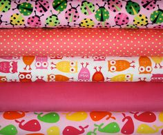 Urban Zoologie Cool Cords fabric bundle by Ann by fabricshoppe, via Etsy.