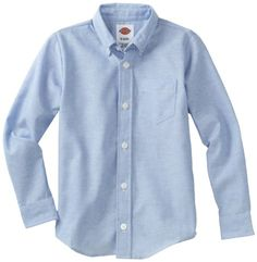 Dickies Kids Boys Long Sleeve Oxford Shirt, Light Blue, Large (14/16) Dickies http://www.amazon.com/dp/B000OLEH90/ref=cm_sw_r_pi_dp_F441tb11R8CKY84R. Boys shirts for Riley and Darrian.