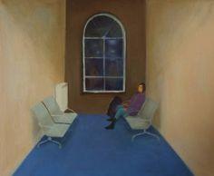 "Saatchi Art Artist Marta Zamarska; Painting, ""A Railway Nocturne X"" #art"
