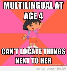 Oh Dora.