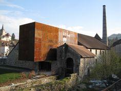 Architecture Renovation, Art Et Architecture, Contemporary Architecture, Conservation Architecture, Habitat Collectif, Adaptive Reuse, Corten Steel, Old Buildings, Restoration